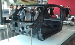 Coque en carbone de la BMW i3