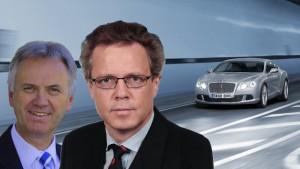 Rolf Frech et Wolfgang Dürheimer, deux hommes de Porsche chez Bentley