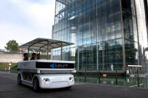 Le Cybergo : jusqu'à huit passagers... mais toujours zéro chauffeur.