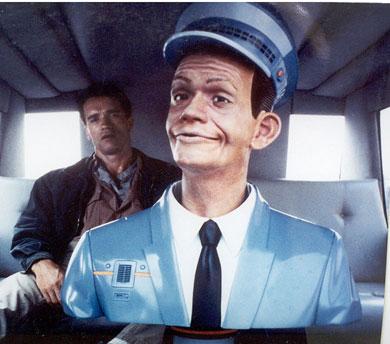 Johnny Cab peut même faire la conversation ! (Total Recall, 1990)