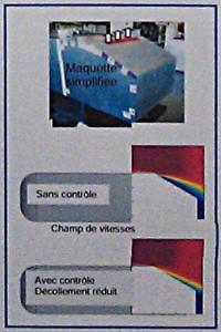 L'effet des micropulseurs sur une maquette (désolé pour la mauvaise qualité du doc...)