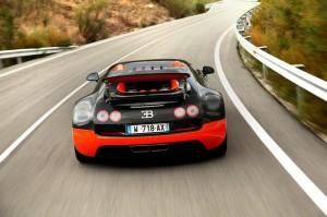Le monstrueux aérofrein de la Bugatti Veyron SuperSport