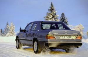 Nostalgie... une Mercedes W124 4Matic !