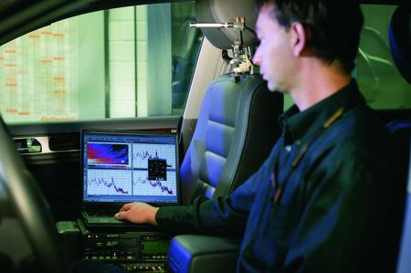Analyse du bruit des pneumatiques chez Continental