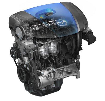 Moteur Mazda SkyActiv G