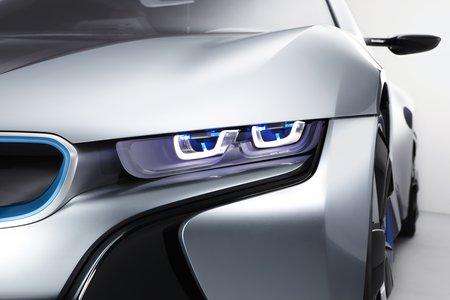 Les phares laser de la BMW i8 Concept