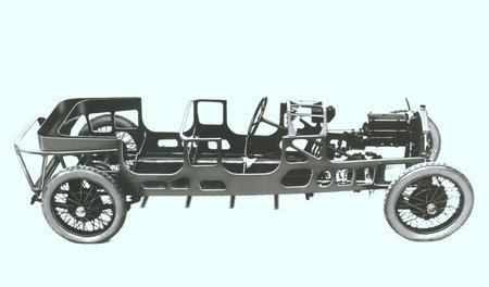 La coque de la Lancia Lambda
