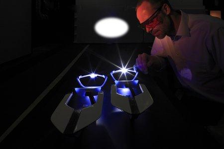 phares laser