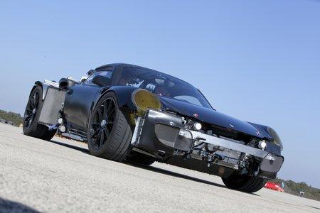 Mulet de la Porsche 918 Spyder