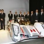 Les pilotes du team Audi Sport en 2012