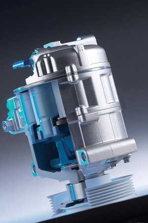 Un compresseur de climatisation © Valeo