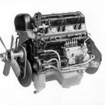 Le moteur de la 300 SL, premier bloc essence à recevoir une injection directe.