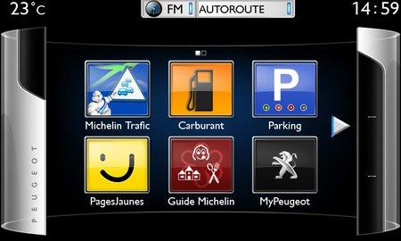 Peugeot Connect Apps (sur la 208)