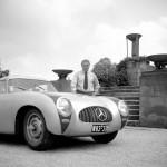 Rudolf Uhlenhaut et la 300 SL W194 de course (1953)