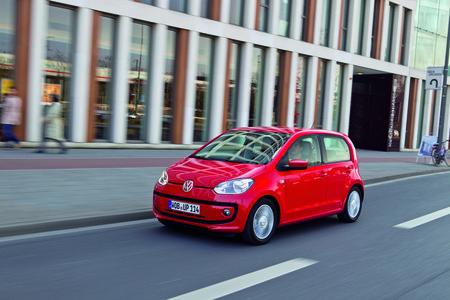 """Volkswagen, roi du diesel ? Plus vraiment : la Up! fait l'impasse sur le """"mazout""""."""