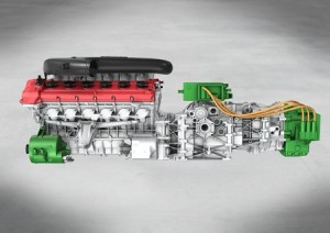 L'architecture à moteur hybride central de la future Ferrari Enzo