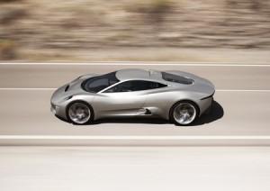 Vacances studieuses pour la Jaguar C-X75 !