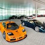 La McLaren F1 LM (version allégée) et la F1 GT (arrière allongé)