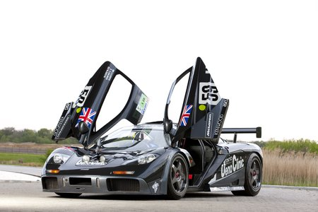 La McLaren F1 victorieuse au Mans en 1995