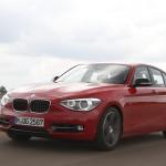 Une BMW Série 1 dotée du nouveau 3 cylindres