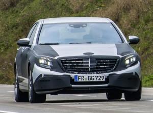 La nouvelle Mercedes Classe S (W222) encore camouflée