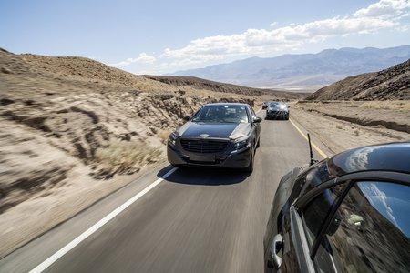 La Mercedes Classe S W222 en pleins tests dans la Vallée de la Mort