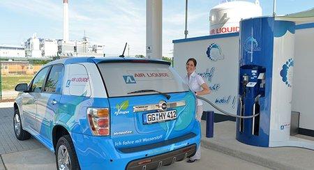 Pas facile de trouver une station-service distribuant de l'hydrogène : le réseau de distribution reste à bâtir !