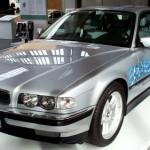 L'hydrogène chez BMW, ça ne date pas d'hier, comme le prouve cette 750hL E38 (source : Wikimedia Commons/High Contrast)