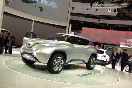Concept-car Nissan TeRRA (Mondial 2012) © Damien Grébille