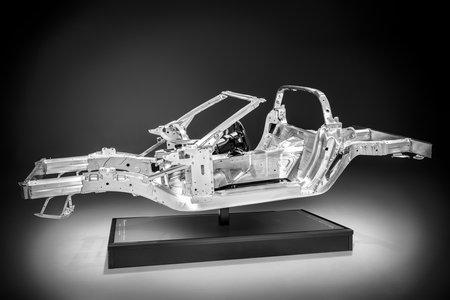 Le châssis de la Corvette C7