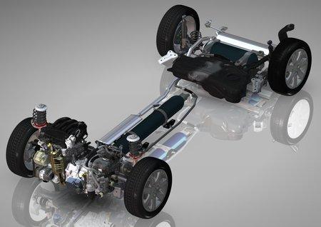 volant d inertie volvo invente son hybride low cost motorshift. Black Bedroom Furniture Sets. Home Design Ideas