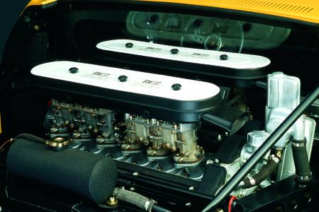 Le V12 de la Miura, conçu par Giotto Bizzarini