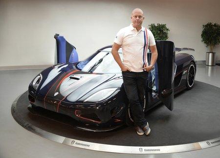 Christian Von Koenigsegg et son Agera R