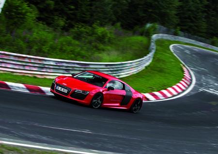 L'Audi R8 e-tron : un p'tit record sur le Nuerburgring et puis s'en va...