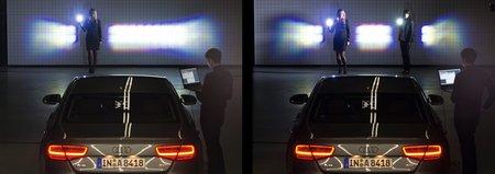 Phares Audi à matrice de diodes
