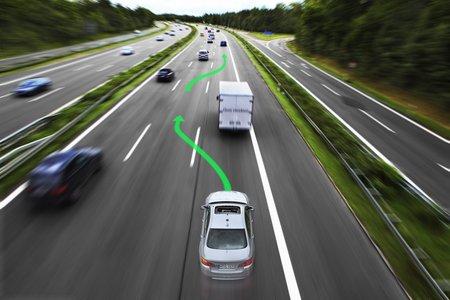 La voiture autonome devra également être capable d'effectuer elle-même des dépassements.