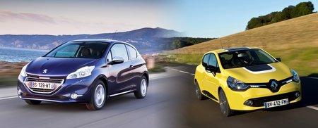 Les Peugeot 208 et Renault Clio 4 bénéficient déjà de plate-formes allégées... mais cela ne suffira pas !