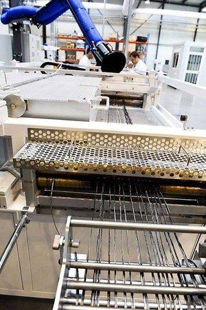 La chaîne pilote de production de composites (photo © Ouest-France)