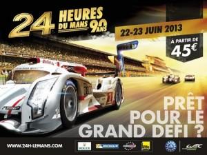 L'affiche des 24 Heures du Mans 2013