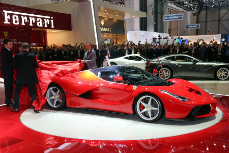 La Ferrari LaFerrari au salon de Genève