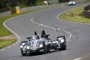La Nissan DeltaWing au Mans en 2012.