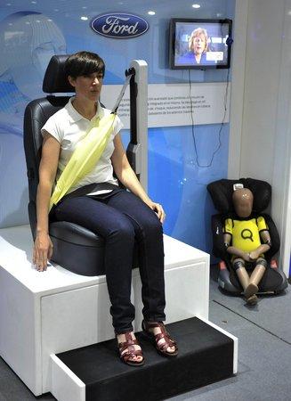 Airbag de ceinture