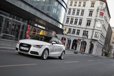 Audi faisait partie des constructeurs participant à l'expérimentation SimTD.