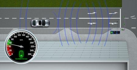 Rouler pile à la bonne vitesse pour avoir le feu vert, ce sera possible !