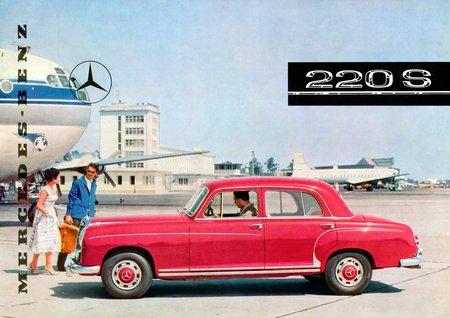 Mercedes 220 S Ponton