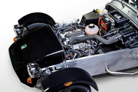 La Caterham à 3 moteur cylindres Suzuki