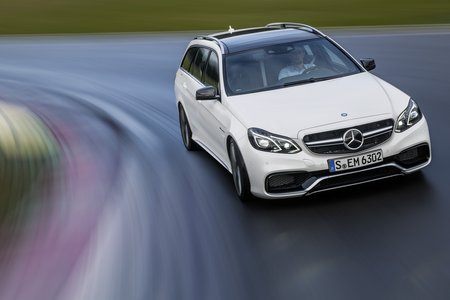 Le break E 63 AMG n'est disponible qu'en 4Matic