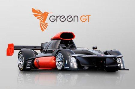 La GeenGT H2, conçue avec l'aide de Symbio FCell, et qui a failli participer aux 24 Heures du Mans