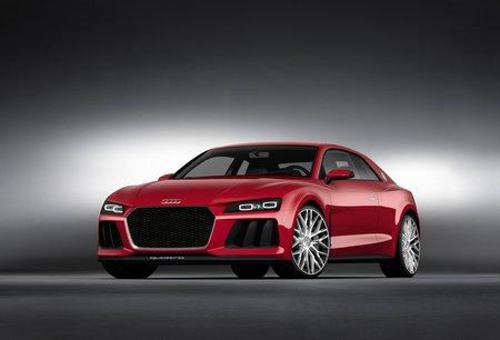 L'Audi Sport Quattro Laserlight Concept présenté au CES 2014.