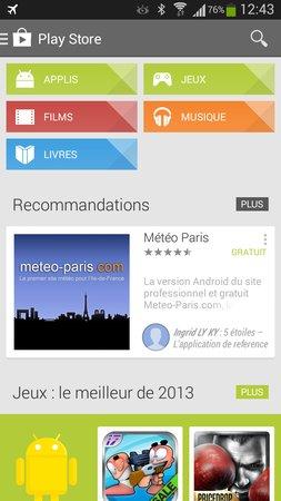 Le Play Store de Google